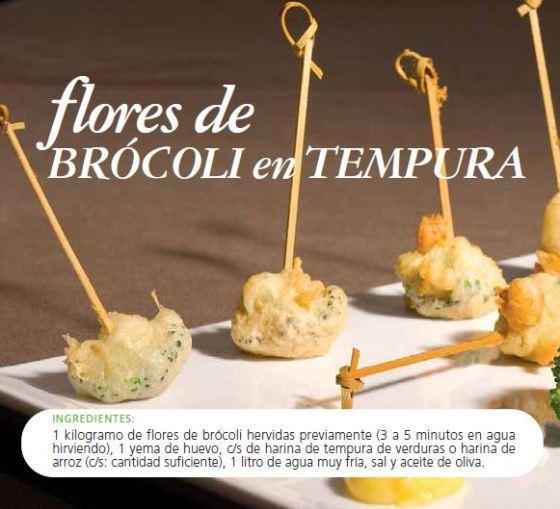 brocoli tempura