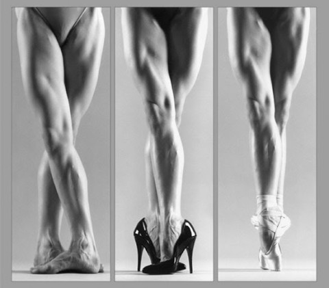Dibujos De Zapatillas De Ballet A Lapiz