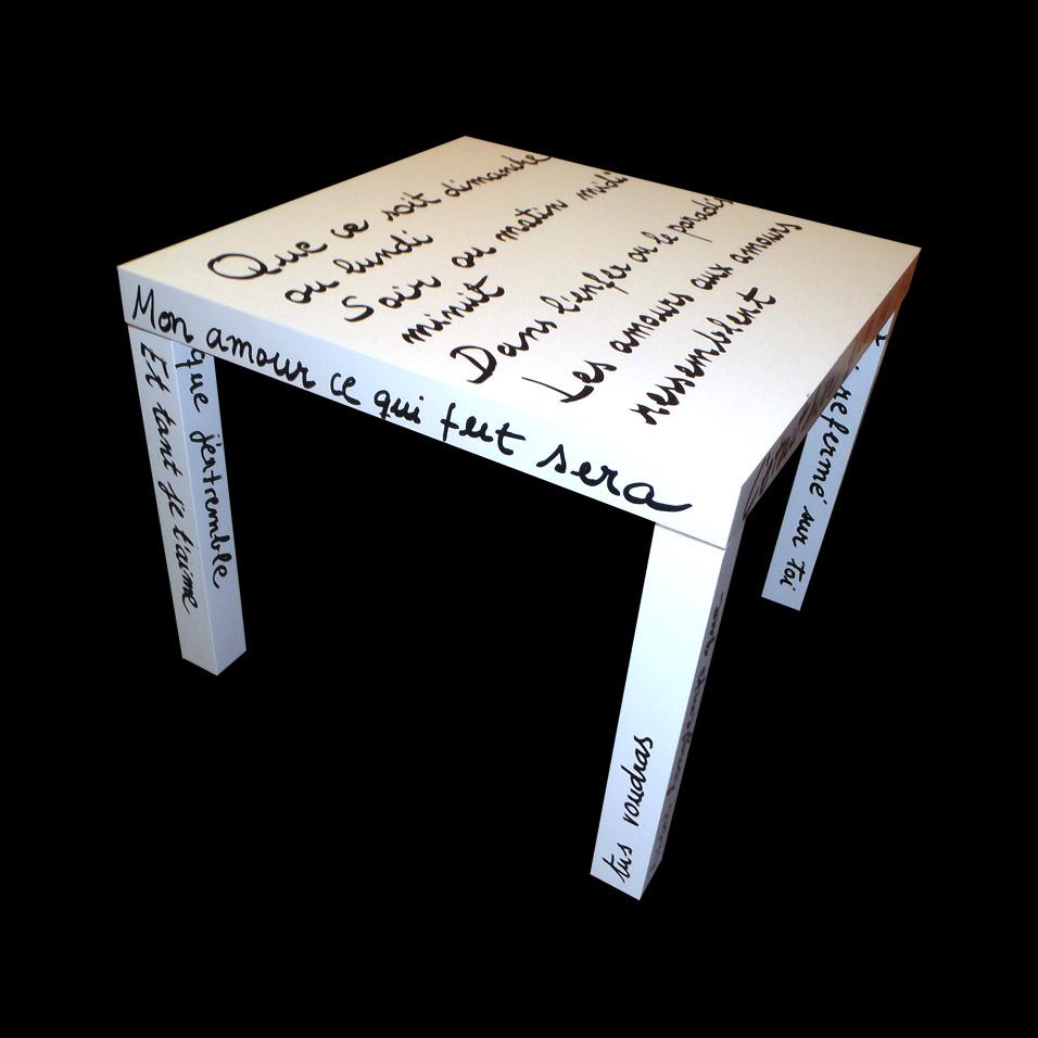 Soy de mesa lack de ikea non perfect el blog imperfecto - Mesa tv ikea lack ...