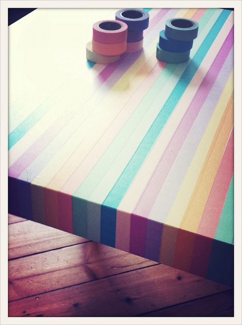 Washi Tape Para Decorar Pard Habitacion Con Tablero Antiguo