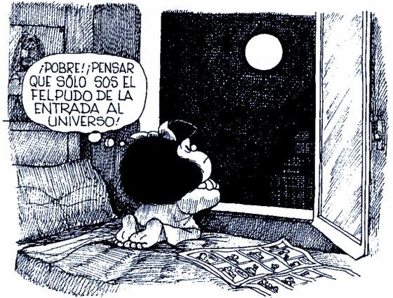 Mafalda y La Luna