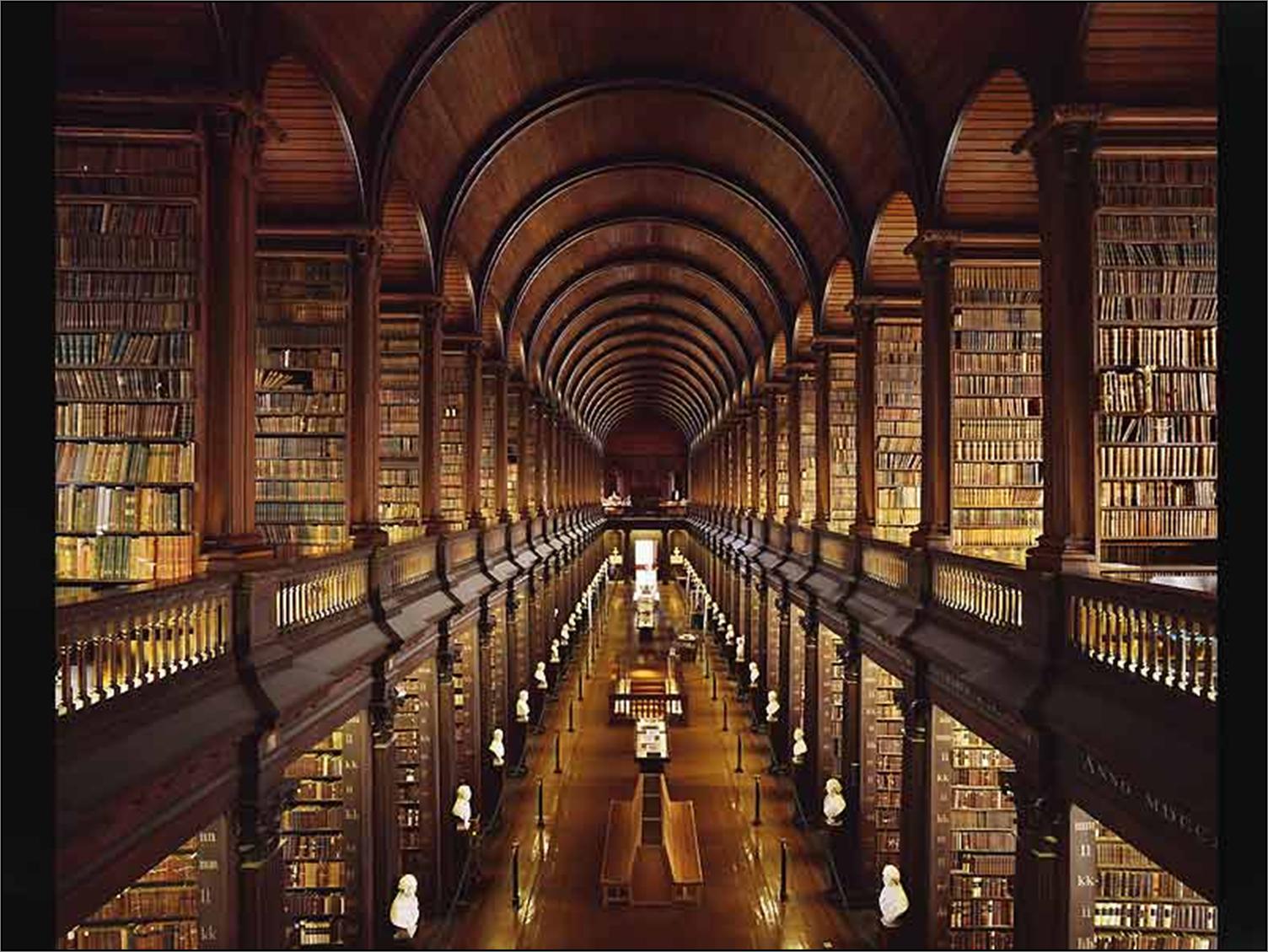 Biblioteca de la mansión Bibliotca