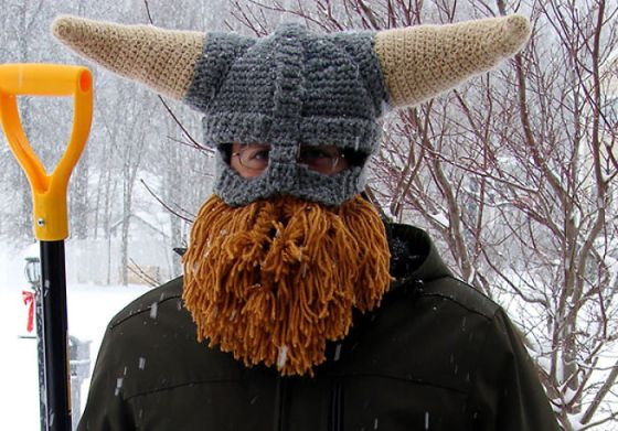 gorro vikingo