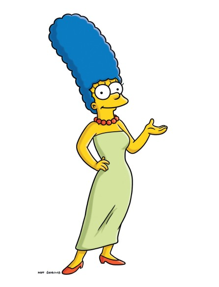 "In this publicity image released by Fox, the character Marge Simpson, from the animated series, ""The Simpsons,"" is shown. Marge Simpson will grace the cover of the November issue of Playboy, on newsstands Oct. 16, 2009. It's a first for the magazine, which has had everyone from Marilyn Monroe to Cindy Crawford to the Girls of Hooters and even the likes of Jerry Seinfeld on the cover. But it's never had a cartoon character before. CEO Scott Flanders says the idea is to attract readers in their 20s to a magazine where the average reader's age is 35. (AP Photo/Fox)"
